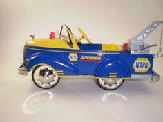 1940 Gendron Pedal Car Tow Truck Bank by FrancesCollectibles, $50.00