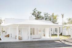 The power of paint - choosing an exterior white — three birds Exterior Colors, Exterior Design, Home Renovation, Home Remodeling, Three Birds Renovations, Pintura Exterior, Hip Roof, White Houses, Coastal Homes