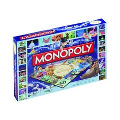 Best Family Board Games, Family Fun Games, Board Games For Kids, Disney Gifts For Adults, Gifts For Disney Lovers, Monopoly Board, Monopoly Game, Disney Animation, Monopoly Disney