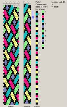bead crochet pattern