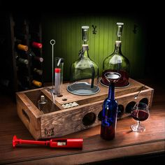 Craft Your Own Wine With Our All-Inclusive Box Kit — Sample Your Very Own Vintage in Just 4 Weeks!