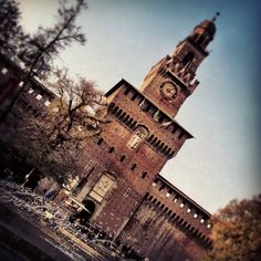 The Sforza Castle in #Milan