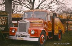 Scammell Highwayman photographed in 1978