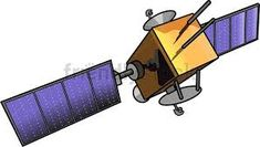 cartoon satellite dish clipart - Google Search Free Vector Clipart, Satellite Dish, Solar Panels, Clip Art, Vector Illustrations, Science Education, Cartoon, Space, Royalty