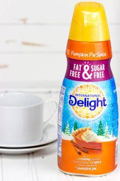 #Sponsored: Time for Pumpkin Pie Spice Creamer from @indelight #idelight #pumpkinseason