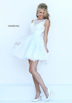 Flirty reception dress - think summer - think beach - think fun!