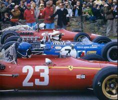 Ickx , Stewart , Amon 1968 F1