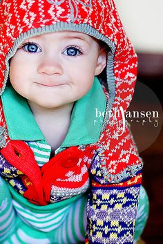 And this is why I must have a baby with blue eyes!
