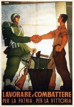 Dante Coscia, Lavorare e combattere per la patria e per la vittoria, 1944   #TuscanyAgriturismoGiratola