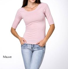 3/4 Sleeve Boat Neck Top - 7 Colors! | Jane