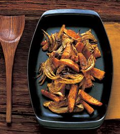 Spiced Winter Squash with Fennel / Lisa Hubbard
