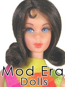 Vintage Barbie 1967-72  (I had this Twist n' Turn Stephanie doll when I was a girl...I wish I had kept her! Marcie O.)