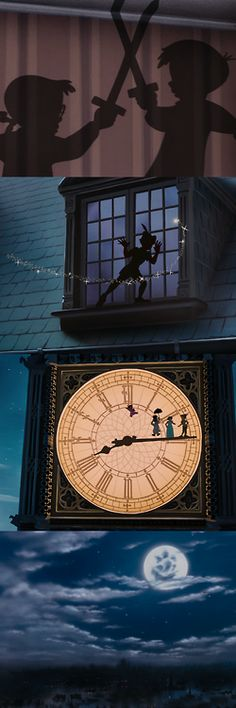 Peter Pan, 1953 (dir. Clyde Geronimi, Hamilton Luske, Wilfred Jackson)