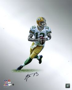 Aaron Rodgers Green Bay Packers Autographed Platinum Collection NFL Football 16 - Aaron Rodgers Green Bay Packers Autographed Platinum Collection NFL Football x Photo - Cincinnati Reds Baseball, Indianapolis Colts, Pittsburgh Steelers, Dallas Cowboys, Nfl Green Bay, Green Bay Packers, Packers Super Bowl, Rodgers Green Bay, Bart Starr