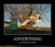 Fail Pictures: Learn To Fly Here! Search for Fun - Funny Clone Pictures 2018 Learn To Fly Aviation Quotes, Aviation Humor, Aviation Theme, Photo Images, Images Gif, Funny Car Accidents, Photo Humour, Funny Road Signs, Flying Lessons