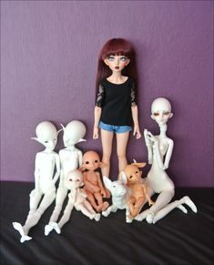 This is my BJD crew :)))