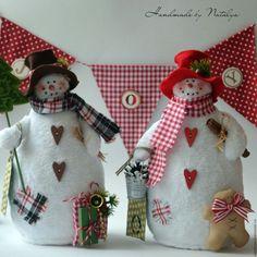 Купить Снеговики. Скидка! - комбинированный, снеговик, снеговичок, новогодний подарок, новый год 2014, новогодний декор
