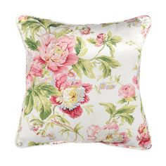 "18"" x 18"" Forever Yours Spring Decorative Pillow with Piping - Image 1"