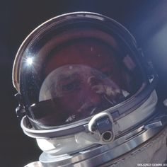 Buzz Aldrin, second seat on the last mission of the program, Gemini XII during his record 5 and one-half hour EVA [NASA/JSC/Arizona State University].