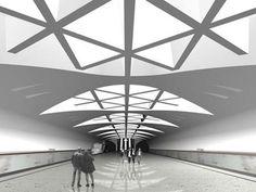 Strogino Subway Station