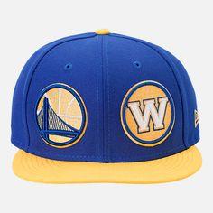 9fce2d57887 New Era Golden State Warriors NBA Y2K Double Whammy 9FIFTY Snapback Hat Hat  Shop