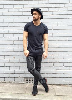 All Black Men's Style #1 Follow MenStyle1 on: ...   MenStyle1- Men's Style Blog