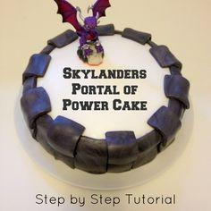 Bake: Skylanders Portal of Power Cake