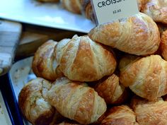 Croissants from Forager's City Grocer in Chelsea #croissant #newyork #pastry #market