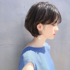 Prom Dress For Teens, HAIR , cheap prom dresses, beautiful dresses for prom. Girl Short Hair, Short Hair Cuts, Hairstyles Haircuts, Pretty Hairstyles, Korean Short Hair, Japanese Short Hair, Shot Hair Styles, Hair Arrange, Japanese Hairstyle