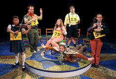 """""""the 25th Annual Putnam County Spelling Bee,"""" William Finn."""