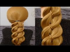 ♛ peinados fáciles ✔ peinados para la escuela ✔ peinados para fiestas ✔ peinados con trenzas ♥ - YouTube