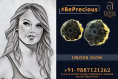 Buy Beautiful Silver Diamond and Gemstone Jewellery from Goyal Jewellers Jaipur. 📞Call Now- +91-9887121262 #BestJewellersinJaipur #JewellersinJaipur #FashionJewellery #SilverJewellery #Jaipur #Rajasthan #gemstonejewellery #diamondjewellery #earrings #rings #bangles #pendants #bracelet #BePrecious
