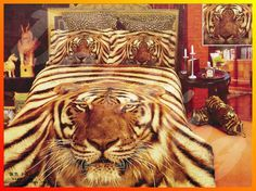 tiger themed bedroom - Google Search