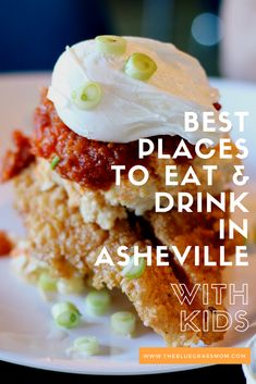 Best places to eat and drink in Asheville North Carolina for families and kids.