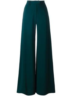 Shop designer wide-leg trousers for women at Farfetch. Edgy Outfits, Mode Outfits, Classy Outfits, Pretty Outfits, Fashion Pants, Hijab Fashion, Korean Fashion, Fashion Outfits, Looks Vintage