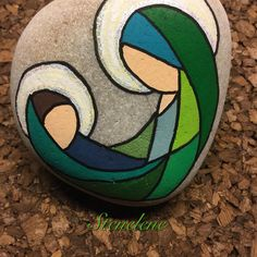 Risultati immagini per piedras pintadas a mano amor Pebble Painting, Pebble Art, Stone Painting, Stone Crafts, Rock Crafts, Hobbies And Crafts, Arts And Crafts, Art Pierre, Christmas Rock