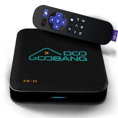 2017 Newest Model GooBang Doo XB-II Android 5.1 TV Box with 1000M LAN 16GB ROM, Unique GooBang Doo Server(OTA) and True 4K Playing
