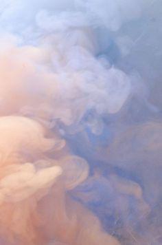 Blue & Pink, Texture, Smoke, Pantone Color(s) of 2016, Rose Quartz & Serenity, h-a-l-e.com