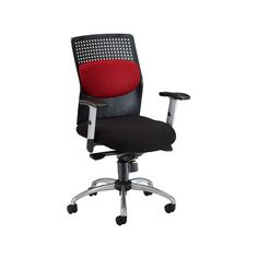 AirFlo Plastic and Fabric High Back Ergonomic Chair