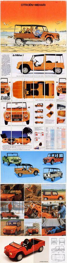 Todo lo que necesitás saber acerca de nuestro pequeño Mehari. #Citroën