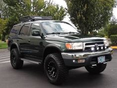 Get the TRD look on your Check it out here! Dream Car Garage, My Dream Car, Dream Cars, 1999 Toyota 4runner, Toyota 4x4, 3rd Gen 4runner, 4runner Accessories, Toyota Girl, Lexus Gx