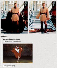 Grandma, it's me... Obi-Wan Kenobi. (Click for the .gif, it is SO much better.)