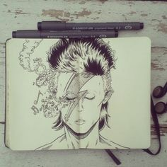#8 Happy Birthday David Bowie by Picolo-kun.deviantart.com on @DeviantArt