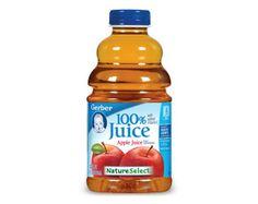 GERBER® NatureSelect™ 100% Fruit Juice – Apple