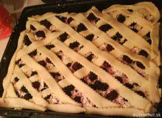 Fotorecept:Dvojfarebný tvarohový koláč s černicami Pie, Desserts, Food, Torte, Tailgate Desserts, Pastel, Meal, Dessert, Eten