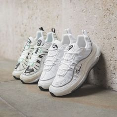 43b81a6cc4 Nike Air Max 98 White / Sail Credit : FootPatrol Sneakers Fashion, Latest  Sneakers,