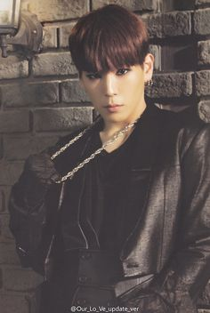 Himchan - B.A.P (don't look at me like that. I'm Daehyun's.)