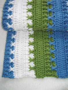 Bestseller -  PDF Crochet Pattern - Logan Baby Blanket (permission to sell finished item). $3.25, via Etsy.