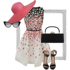 ADORABLE!!! I love the dress and I love the hat even more! I think I will have to do that one this summer!