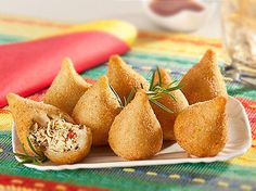 Simple & Easy Coxinhas (Brazilian Chicken Croquettes) Recipe on Yummly. @yummly #recipe